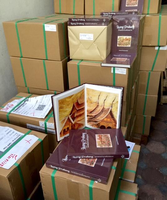 Luang Prabang Watercolours new version in stock