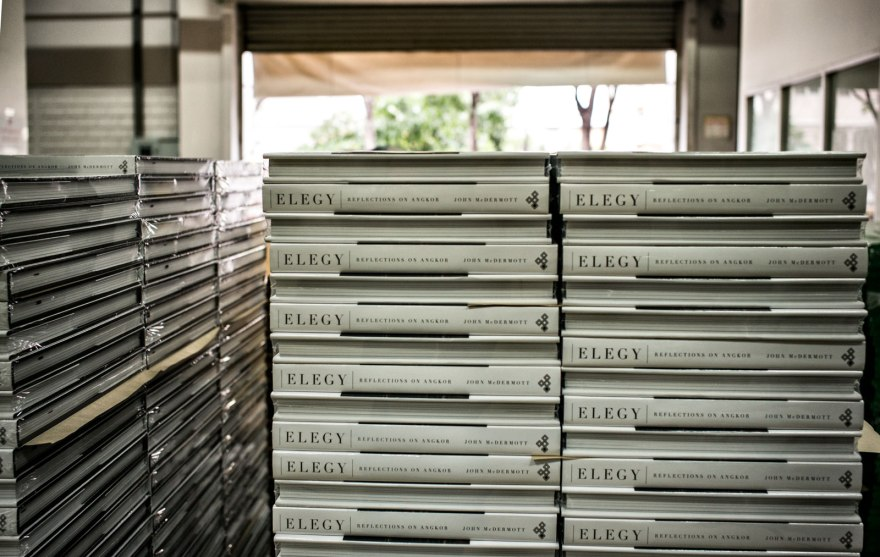 Elelgy book at Amarin Printing plant